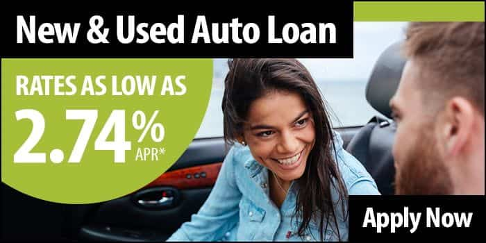 New or used auto loan rates as low as 2.74% APR. Apply Now.