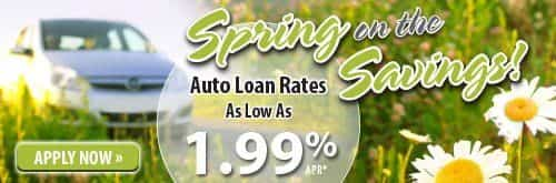 Spring on the Savings! Apply Now