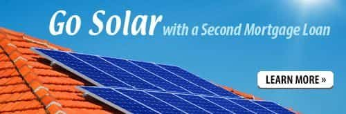 Go Solar with a Second Mortgage. Click to Apply Now.