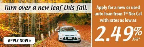Turn over a new leaf this fall. Click to apply for an auto loan.