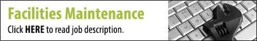 Click to read the Facilities Maintenance Job Description