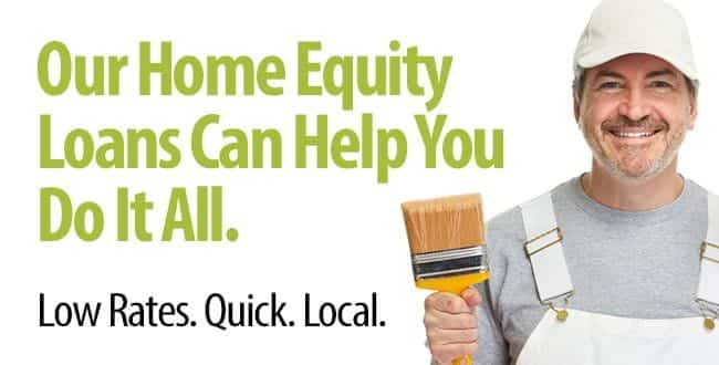 Our home equity loans can help you do it all. Low rates. Quick. Local. Click to learn more.