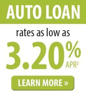 Auto Loans Rates as low as 3.20% APR. Click for details.